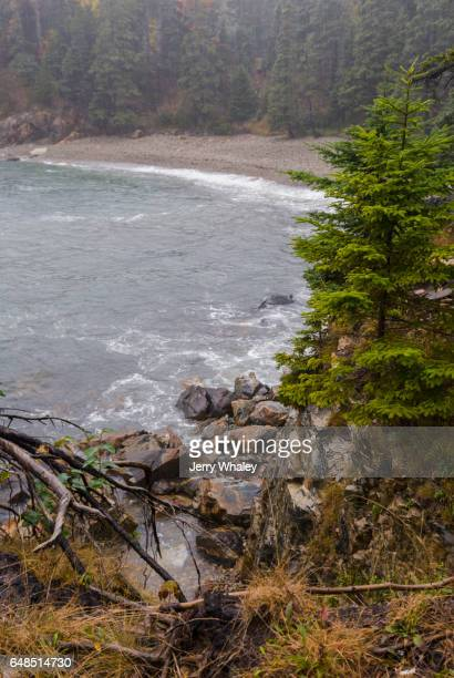 Rain, Little Hunters Beach, Acadia National Park