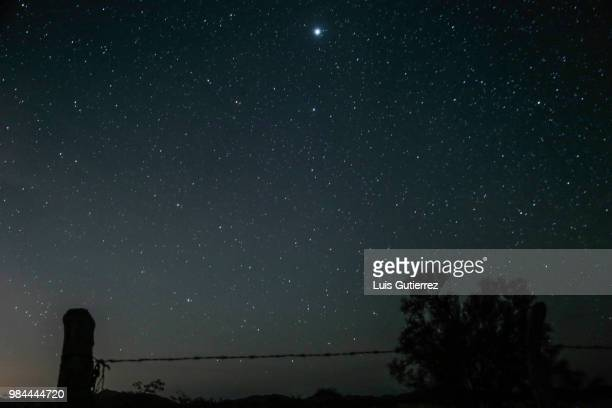 rain of stars phenomenon seen from sonora desert in mexico - planchas_de_plata,_sonora stock pictures, royalty-free photos & images
