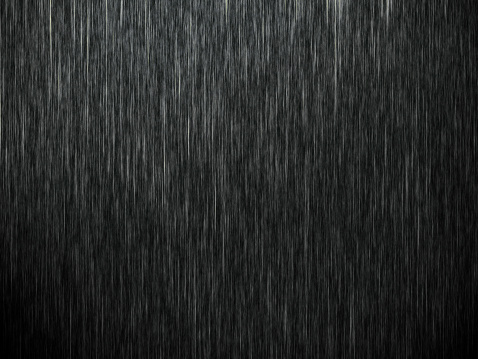 Rain on black. Abstract background 470966313