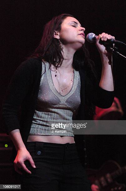 Rain Phoenix during Bring 'Em Home Now 3rd Iraq War Anniversary Concert at Hammerstein Ballroom in New York City New York United States