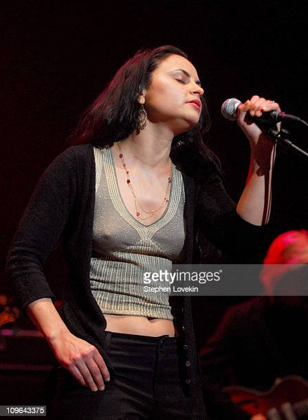 Rain Phoenix during Bring 'Em Home Now Concert Marking The Third Anniversary of The Iraq War at Hammerstein Ballroom in New York City NY United States
