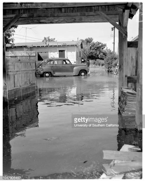 Rain pictures in Pico Rivera 25 February 1958 Mrs Richard Johnson Patricia Johnson 5 yearsTom Worthington 7 years Tom Unwain 11 years Dennis...