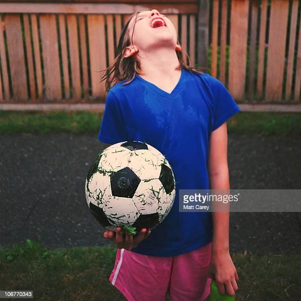 Rain soccer