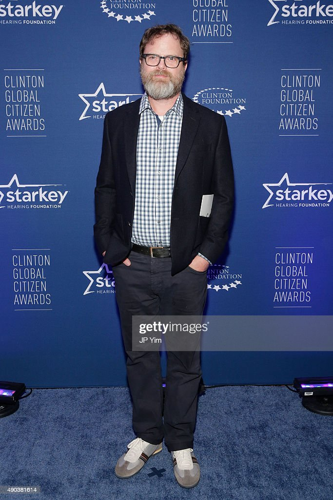 Rain Wilson attends the Clinton Global Citizen Awards during the second day of the 2015 Clinton Global Initiative's Annual Meeting at the Sheraton New York Hotel & Towers on September 27, 2015 in New York City.