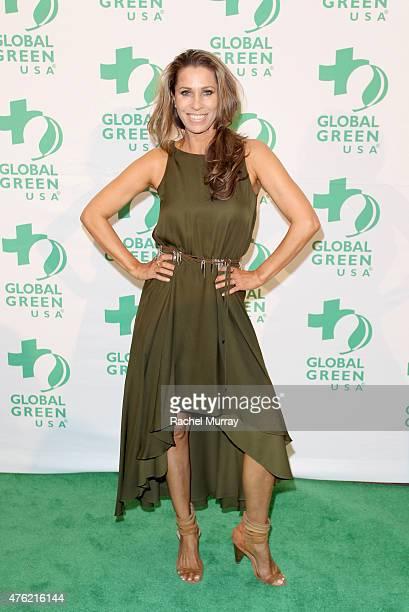 Rainbeau Mars attends the Global Green USA 19th Annual Millennium Awards on June 6 2015 in Century City California