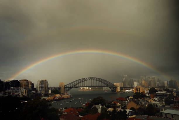 AUS: Wet Weather Continues In Sydney