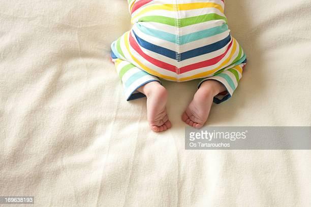 Rainbow baby bum