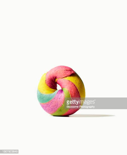 rainbow bagel - politics and government stock pictures, royalty-free photos & images