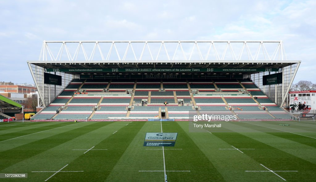 GBR: Leicester Tigers v Saracens - Gallagher Premiership Rugby