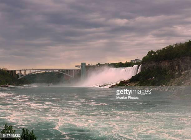 Rainbow Bridge, American Falls and Niagara River