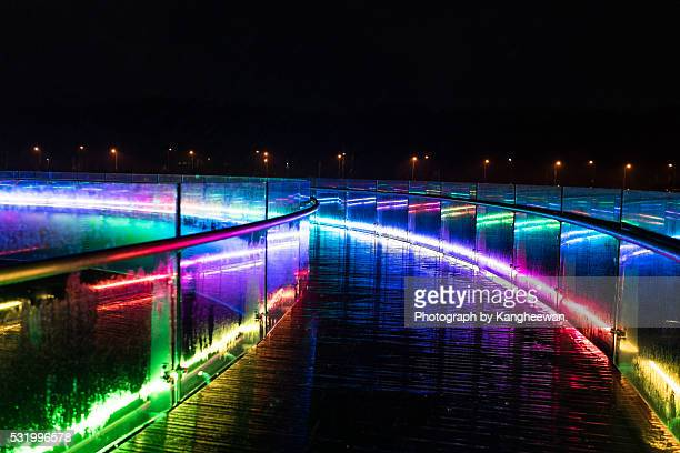 Rainbow Bridge in Night