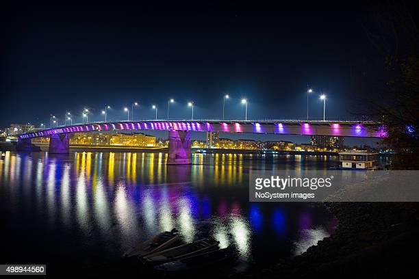 Rainbow bridge, Novi Sad, Serbien