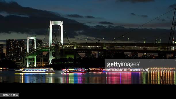 rainbow bridge - christinayan ストックフォトと画像