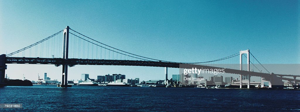 Rainbow Bridge, Tokyo, Japan : Stock Photo