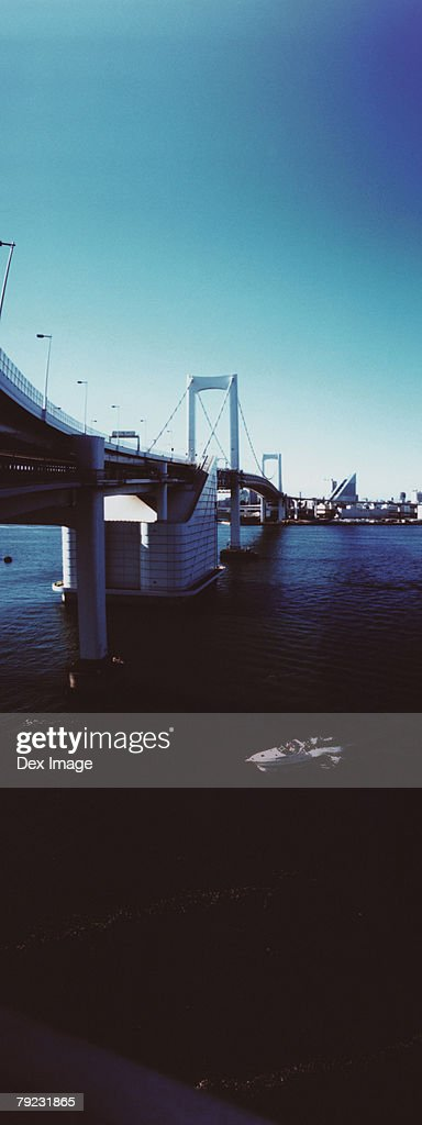 Rainbow Bridge, Tokyo, Japan : Stock Photo