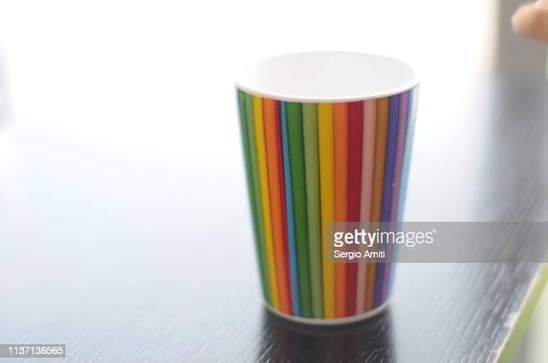 Rainbow colour mug