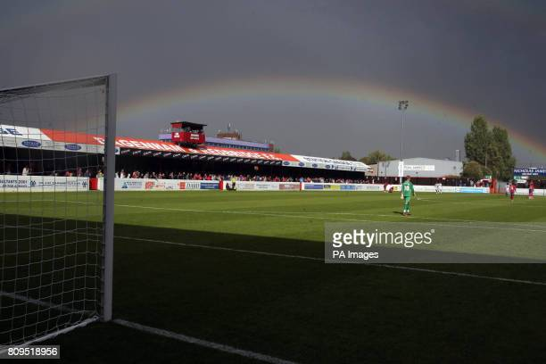 Rainbow during the npower Football League two match at Victoria Road, Dagenham.