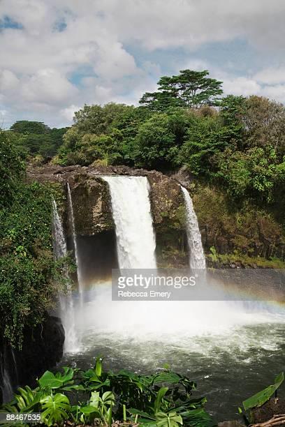 Rainbow Falls, Hilo, Hawaii, Big Island, USA