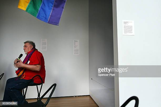 12 Rainbow Flag Creator Gilbert Baker Speaks At Moma After