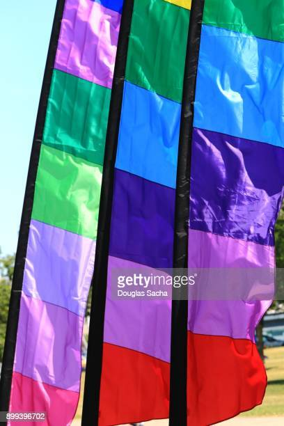 Rainbow Flags and Banners