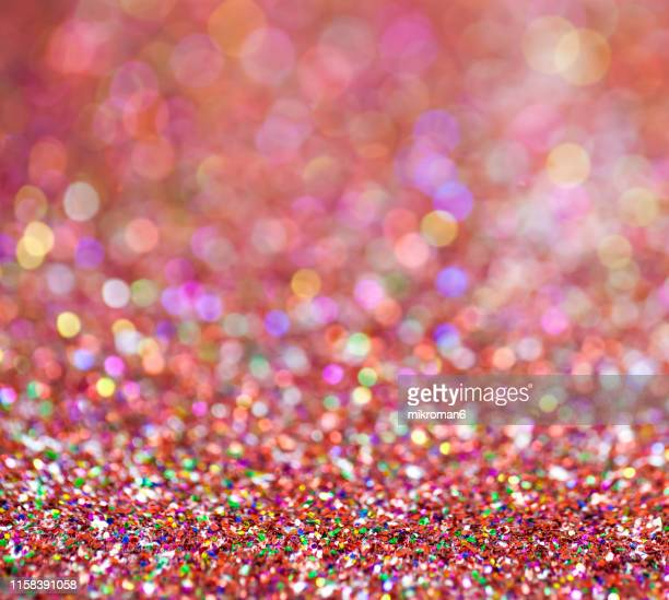 rainbow glitter - february stock pictures, royalty-free photos & images
