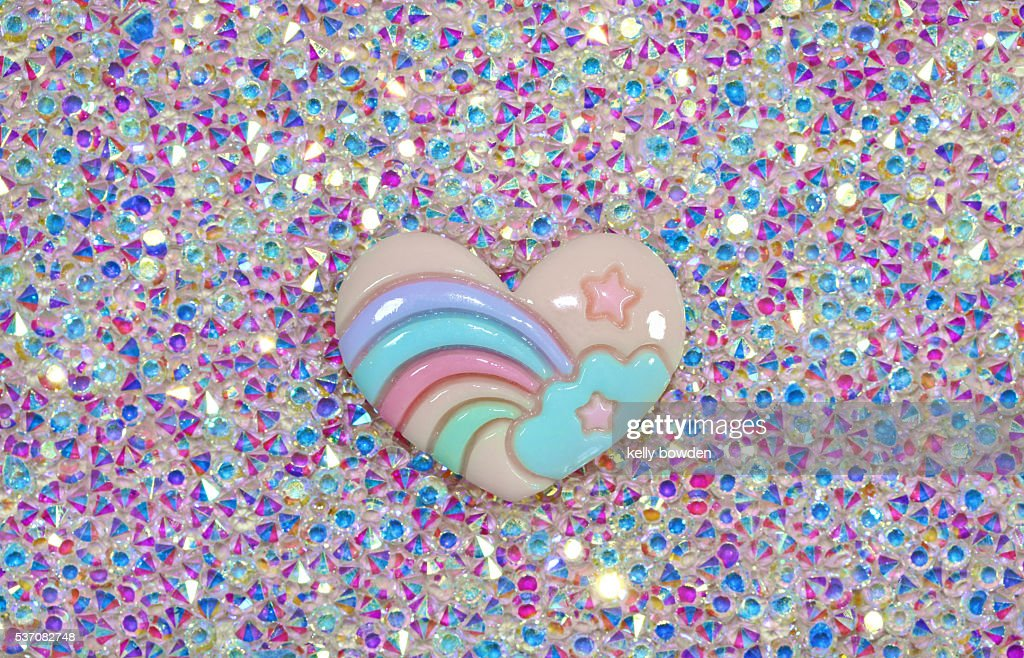rainbow heart : Stock Photo