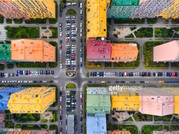 Rainbow casas vista aérea