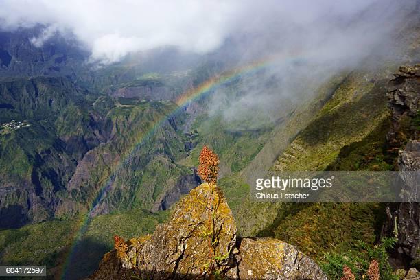 Rainbow in Cirque de Mafate, La Réunion