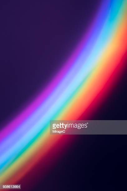 rainbow light - rainbow stock pictures, royalty-free photos & images