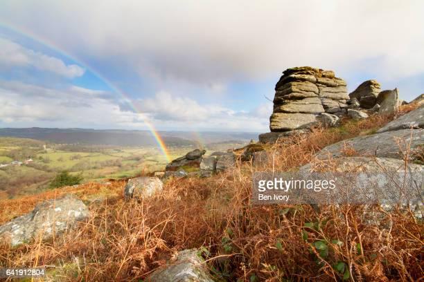 rainbow over Hayne Down