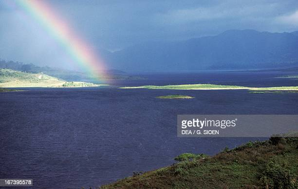 Rainbow over Lake Arenal Costa Rica