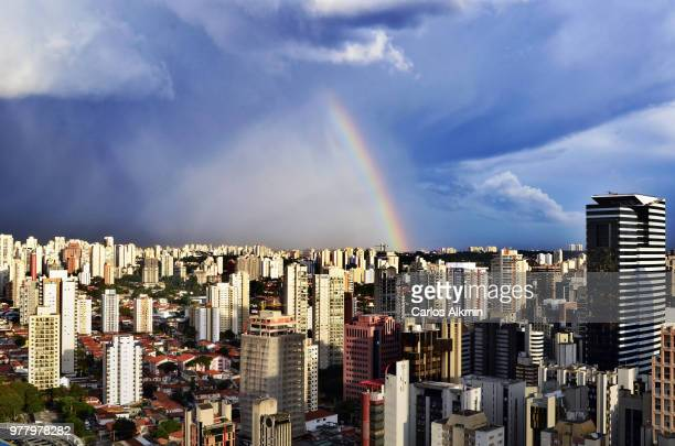 Rainbow over Sao Paulo