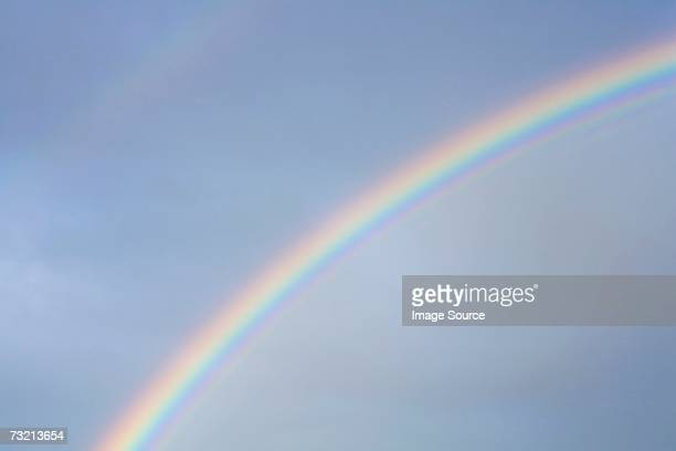 rainbow - rainbow sky stock pictures, royalty-free photos & images