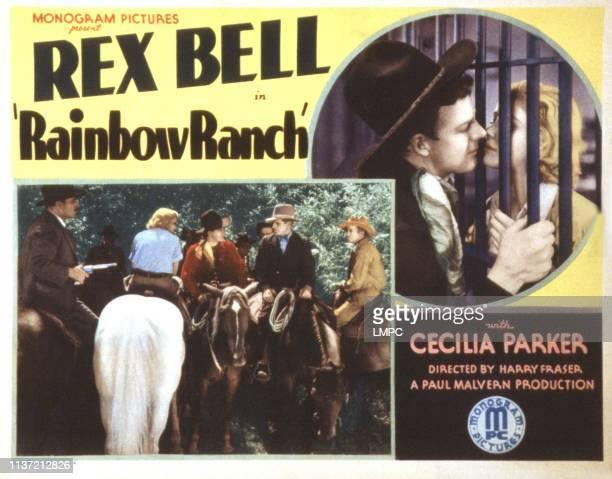 Rainbow Ranch lobbycard Cecilia Parker Rex Bell Henry Hall 1933