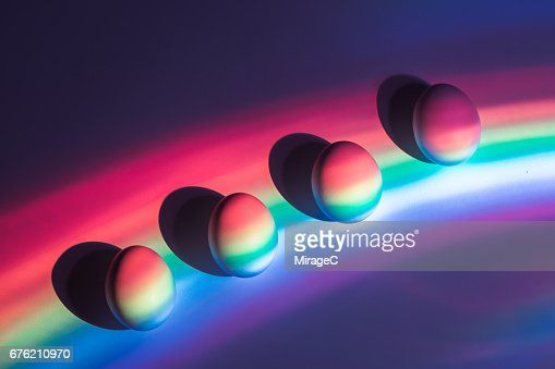Rainbow Spectrum Casting Eggs
