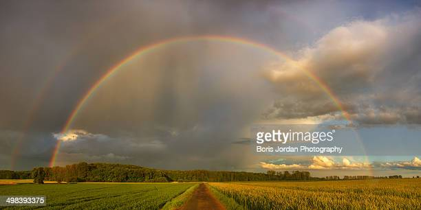rainbow street - bad homburg stock pictures, royalty-free photos & images