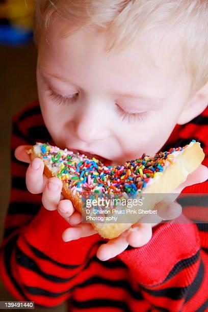 Rainbow sweet fairy bread