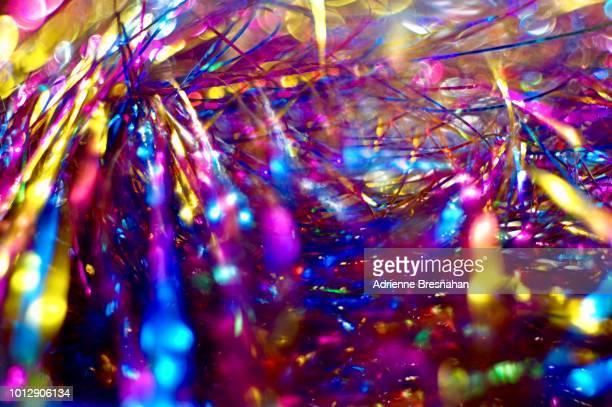 Rainbow Tinsel Explosion