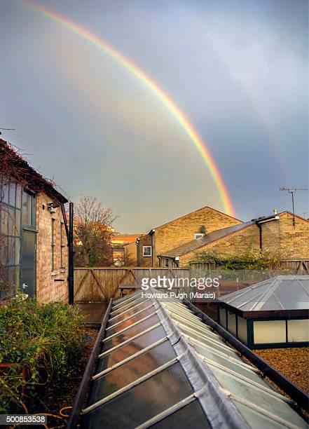 Rainbows: Golden bows across the skyline