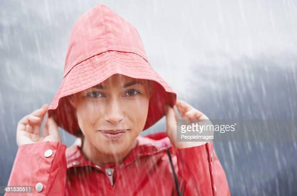 Rain...but I'm covered!