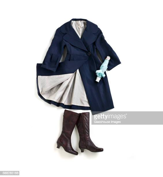 Raincoat Woman