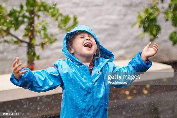 Raindrops and happiness