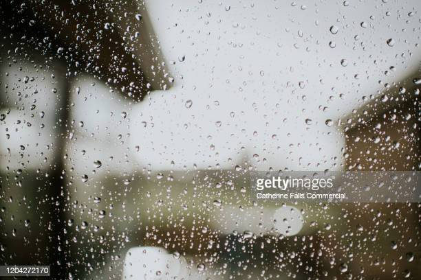 raindrops on a window - damaged stock pictures, royalty-free photos & images