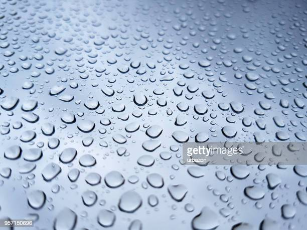 raindrops on glass - bead stock pictures, royalty-free photos & images