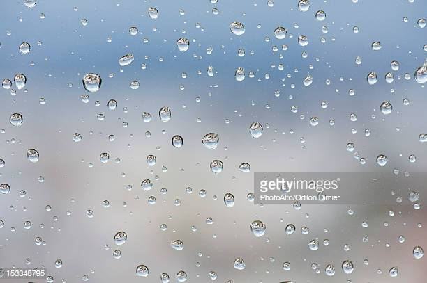 raindrops on window, close-up - the four elements stock pictures, royalty-free photos & images