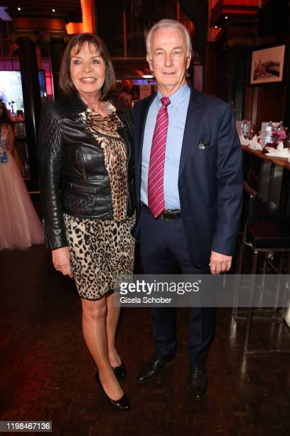 """Rainer Bonhof and his wife Roswitha Bonhof during the Lambertz Monday Night 2020 """"Wild Chocolate Party"""" on February 3, 2020 in Cologne, Germany."""