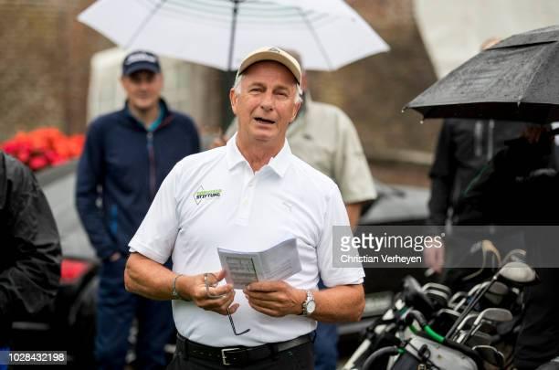 Rainer Bonhof of Borussia Moenchengladbach during the Borussia Foundation Golf Tournament at Golfclub Schloss Myllendonk on September 07 2018 in...