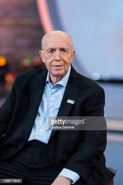 Rainer Calmund attends the 25th RTL Telethon on November 20, 2020 in Huerth, Germany.