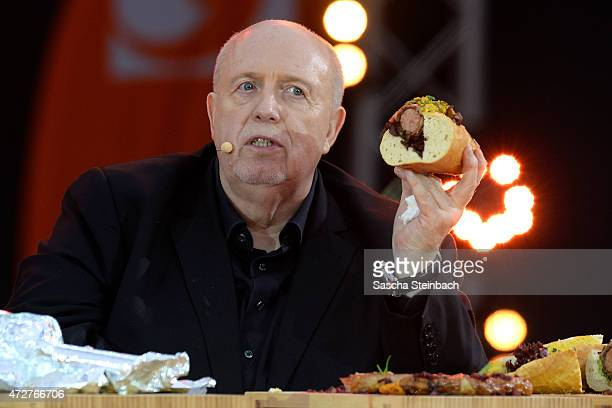 Rainer Calmund attends the taping of the tv show 'Abenteuer Grillen Der kabel eins BBQKing 2015' on May 9 2015 in Bottrop Germany The show will be...