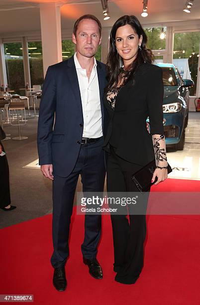 Rainer Schuettler and his wife Jovana Schuettler during the '100 Jahre Internationale Tennismeisterschaften von Bayern' Gala Evening on April 27 2015...